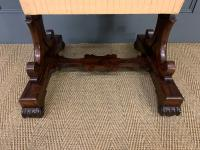 William IV Rosewood Work Table (13 of 15)