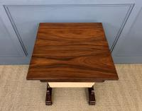 William IV Rosewood Work Table (12 of 15)