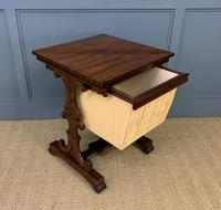 William IV Rosewood Work Table (10 of 15)