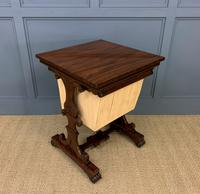 William IV Rosewood Work Table