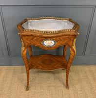 Kingwood Jardiniere with Porcelain Plaques (4 of 14)