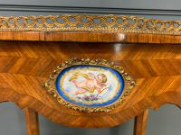 Kingwood Jardiniere with Porcelain Plaques (3 of 14)