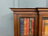 Jas Shoolbred Inlaid Mahogany Bookcase / Cabinet (7 of 15)