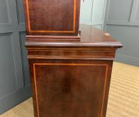 Jas Shoolbred Inlaid Mahogany Bookcase / Cabinet (15 of 15)