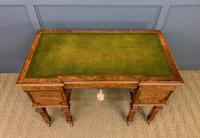 Johnstone & Jeanes Inlaid Burr Walnut Writing Table (5 of 19)
