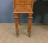 Johnstone & Jeanes Inlaid Burr Walnut Writing Table (6 of 19)