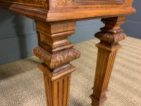 Johnstone & Jeanes Inlaid Burr Walnut Writing Table (7 of 19)