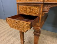 Johnstone & Jeanes Inlaid Burr Walnut Writing Table (13 of 19)