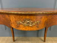 Victorian Inlaid Burr Walnut Centre Table (3 of 12)