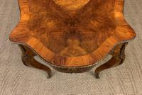 Victorian Inlaid Burr Walnut Centre Table (11 of 12)