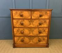 Victorian Burr Walnut Chest of Drawers (2 of 11)