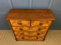 Victorian Burr Walnut Chest of Drawers (3 of 11)