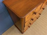 Victorian Burr Walnut Chest of Drawers (5 of 11)