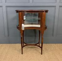 Edwardian Inlaid Mahogany Bijouterie Table (3 of 12)