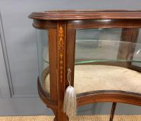 Edwardian Inlaid Mahogany Bijouterie Table (7 of 12)