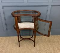 Edwardian Inlaid Mahogany Bijouterie Table (8 of 12)