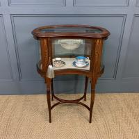 Edwardian Inlaid Mahogany Bijouterie Table (2 of 12)