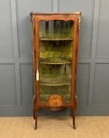 French Kingwood & Marquetry Vitrine c.1895 (2 of 15)