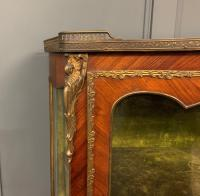 French Kingwood & Marquetry Vitrine c.1895 (6 of 15)