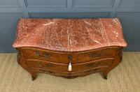 Large French Kingwood Marble Topped Commode (4 of 18)