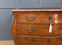 Large French Kingwood Marble Topped Commode (7 of 18)