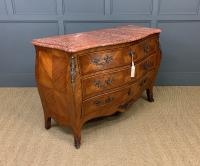 Large French Kingwood Marble Topped Commode (11 of 18)