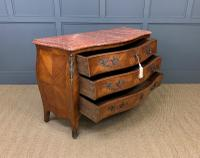 Large French Kingwood Marble Topped Commode (13 of 18)