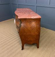 Large French Kingwood Marble Topped Commode (15 of 18)