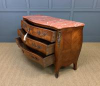 Large French Kingwood Marble Topped Commode (16 of 18)