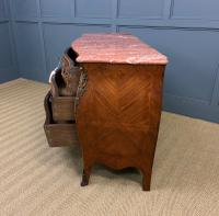 Large French Kingwood Marble Topped Commode (17 of 18)