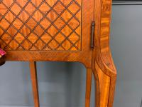 French Marble Topped Satinwood Cabinet c.1900 (8 of 14)
