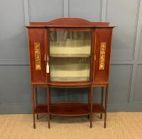 Inlaid Mahogany Arts & Crafts Display Cabinet (2 of 12)