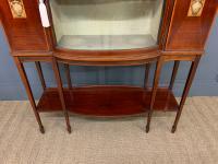 Inlaid Mahogany Arts & Crafts Display Cabinet (3 of 12)