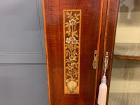 Inlaid Mahogany Arts & Crafts Display Cabinet (4 of 12)