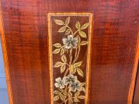 Inlaid Mahogany Arts & Crafts Display Cabinet (5 of 12)