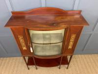 Inlaid Mahogany Arts & Crafts Display Cabinet (6 of 12)