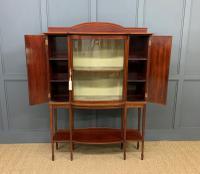 Inlaid Mahogany Arts & Crafts Display Cabinet (7 of 12)