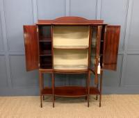 Inlaid Mahogany Arts & Crafts Display Cabinet (8 of 12)