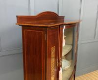 Inlaid Mahogany Arts & Crafts Display Cabinet (11 of 12)