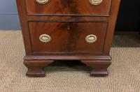 Flame Mahogany Pedestal Desk by Maple & Co (6 of 16)