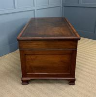 Flame Mahogany Pedestal Desk by Maple & Co (10 of 16)