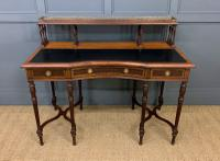 Inlaid Rosewood Writing Desk by Collinson and Lock (2 of 24)