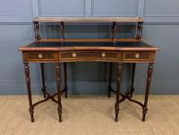 Inlaid Rosewood Writing Desk by Collinson and Lock (3 of 24)