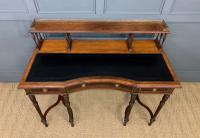 Inlaid Rosewood Writing Desk by Collinson and Lock (4 of 24)