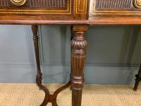 Inlaid Rosewood Writing Desk by Collinson and Lock (6 of 24)