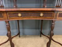Inlaid Rosewood Writing Desk by Collinson and Lock (8 of 24)