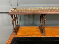 Inlaid Rosewood Writing Desk by Collinson and Lock (12 of 24)