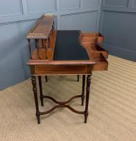 Inlaid Rosewood Writing Desk by Collinson and Lock (19 of 24)