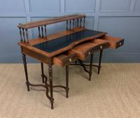 Inlaid Rosewood Writing Desk by Collinson and Lock (24 of 24)