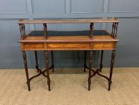 Inlaid Rosewood Writing Desk by Collinson and Lock (23 of 24)